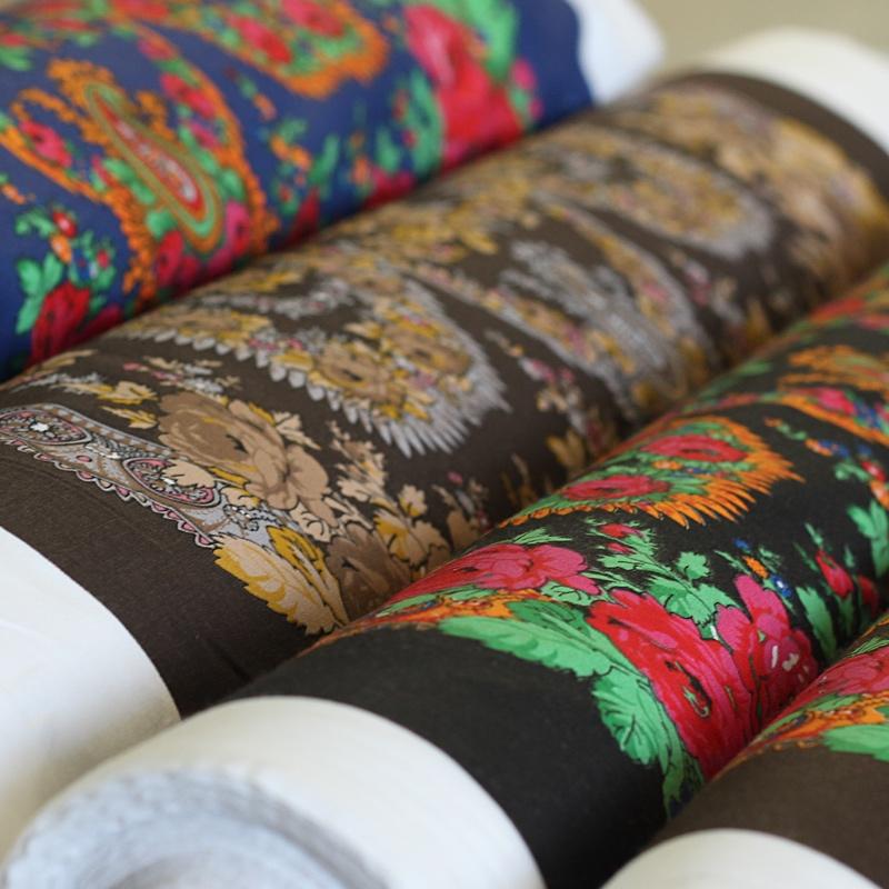 Head Scarves Fabrics